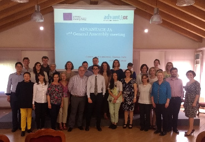 ADVANTAGE JA's Steering Committee and General Assembly meeting in Treviso (Italy)
