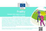 New EU publication: Frailty – European Union support to prevent ageing decline in citizens