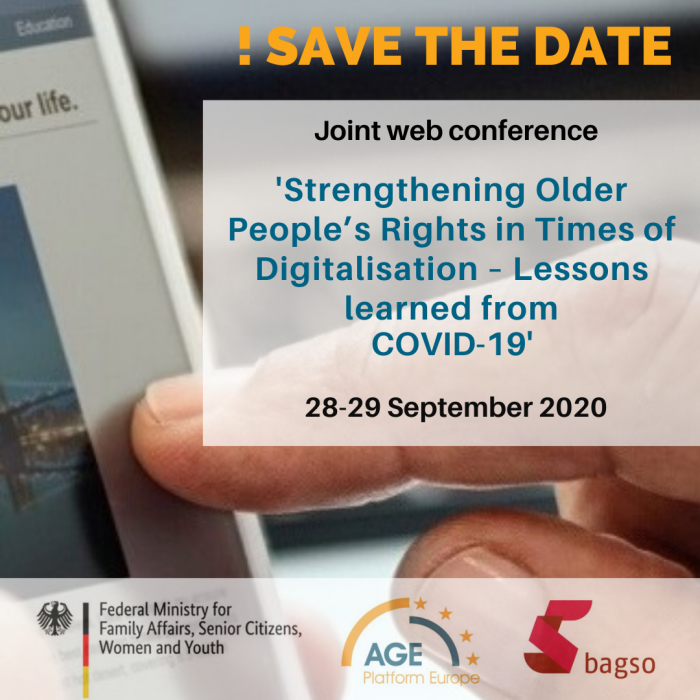 eConference: Strengthening Older People's Rights in Times of Digitalisation